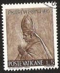 Sellos del Mundo : Europa : Vaticano : POSTE VATICANE - PAULUS VI PONT. MAX.