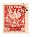 Sellos de Europa - Polonia -  TIMBRE DE SERVICIO INTERIOR
