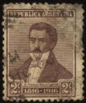 Sellos del Mundo : America : Argentina : Dr. Francisco Narciso Laprida. 1786 – 1829. Abogado y político argentino.
