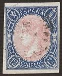 Sellos del Mundo : Europa : España :  Isabel II. - Edifil 70