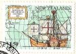Sellos del Mundo : Oceania : Nueva_Zelanda : SIGHTING OF THE AMERICAS CLUMBUS
