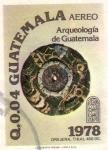 Sellos del Mundo : America : Guatemala : Tesoros arqueologicos de tikal