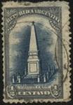 Sellos del Mundo : America : Argentina : Conmemorativo del primer centenario de la Revolución del 25 de Mayo de 1810. Pirámide de Mayo.