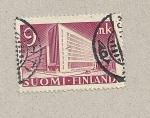 Sellos de Europa - Finlandia -  Edificio