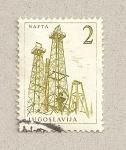 Sellos de Europa - Yugoslavia -  Pozos de petroleo