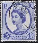 Sellos del Mundo : Europa : Reino_Unido : Isabel II, Postage Revenue, E. R.