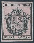 Sellos del Mundo : Europa : España : Escudo de España. - Edifil 29