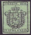 Sellos del Mundo : Europa : España : Escudo de España. - Edifil 30
