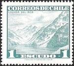 Sellos de America - Chile -  CORREOS DE CHILE - LAGUNA DEL INCA