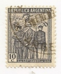 Sellos de America - Argentina -  Revolución de 1930 (6 de Setiembre)
