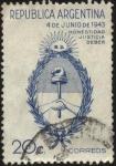 Sellos de America - Argentina -  Honestidad, Justicia, Deber. Conmemorativos del Movimiento Revolucionario del 4 de junio de 1943. Es