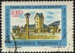 Sellos de America - Argentina -  Centro Cívico de la Ciudad de San Carlos de Bariloche, provincia de Río Negro.
