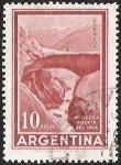 Sellos del Mundo : America : Argentina : MENDOZA PUENTE DEL INCA