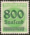 Sellos de Europa - Alemania -  DEUTSCHES REICH - IMPERIO ALEMAN