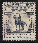Sellos del Mundo : America : Rep_Dominicana : ESTATUA DE Rafael Leónidas Trujillo Molina.