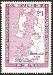 Sellos de America - Chile -  CENTENARIO DE LA PROVINCIA DE CHILOE - HOMENAJE A SUS CINCO CIUDADES CENTENARIAS