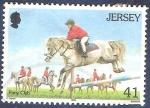 Sellos del Mundo : Europa : Isla_de_Jersey : Pony Club