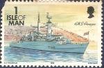 Sellos del Mundo : Europa : Isla_de_Man : HMS Amazon