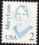 Sellos de America - Estados Unidos -  Mary Lyon