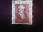 Sellos de Europa - Italia -  Giambattista Bodoni (1740-1813) (Topografo)- 150º Aniversario de su muerte(1813-1963)