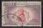 Sellos del Mundo : Africa : Etiopía : Emperatriz Menen Waizero y el emperador Haile Selassie.