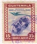 Sellos del Mundo : America : Guatemala : Centenario del Sello Postal