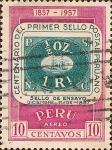 Sellos del Mundo : America : Perú : Centenario del Primer Sello Postal Peruano. 1857 - 1957