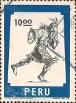 Sellos del Mundo : America : Perú : Chasqui: Símbolo Postal Peruano.
