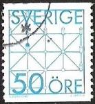 Sellos del Mundo : Europa : Suecia : DISEÑO GEOMETRICO