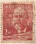 Sellos de Oceania - Australia -  John Forrest