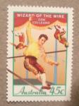 Sellos del Mundo : Oceania : Australia : El circo: Wizard of the wire Con Colleano
