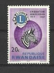 Sellos de Africa - Rwanda -