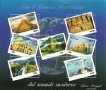 Sellos de America - Perú -  Las 7 nueva Maravillas del mundo moderno