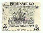 Sellos de America - Perú -  XV Centenario de la muerte de Isabel La Católica