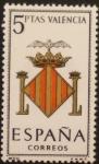 Sellos de Europa - España -  escudo valencia
