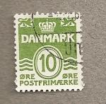 Sellos de Europa - Dinamarca -  Escudo