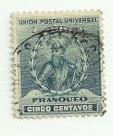 Sellos de America - Perú -  Figuras nacionales: Francisco pizarro