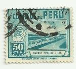 Sellos de America - Perú -  Barrio Obrero - Lima