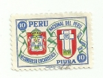 Sellos del Mundo : America : Perú : VI congreso eucarístico