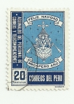 Sellos del Mundo : America : Perú : Navidad  pro - cartero