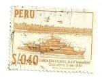 Sellos del Mundo : America : Perú : Cañonera Fluvial B.A.P. Marañon