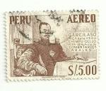 Sellos del Mundo : America : Perú : Garcilazo Inca de la Vega
