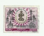 Sellos del Mundo : America : Perú : Homenaje a la Guardia Civil