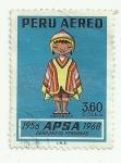 Sellos del Mundo : America : Perú : APSA - Aerolineas peruanas