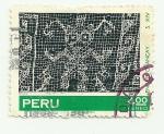 Sellos del Mundo : America : Perú : Tejidos Pre-Incas