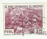 Sellos del Mundo : America : Perú : Cambios estructurales