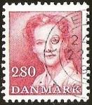 Sellos del Mundo : Europa : Dinamarca : REINA MARGARITA II