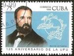 Sellos del Mundo : America : Cuba : 125º ANIVERSARIO DE LA UPU
