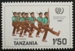 Sellos del Mundo : Africa : Tanzania : international youth year 1985