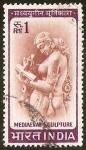 Sellos de Asia - India -  MEDIAEVAL SCULPTURE